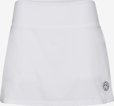 BIDI BADU Long Skort Alina Tech mit schickem Logo-Print in weiß, Produktansicht