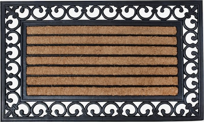 esschert design Fußmatte in braun / schwarz, Produktansicht