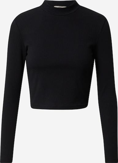A LOT LESS Shirt 'Nova' - (GOTS) in schwarz, Produktansicht