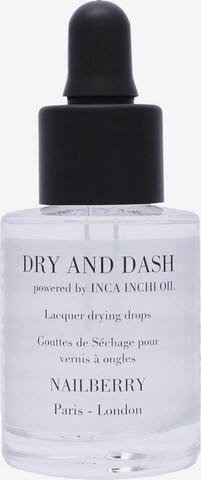 Nailberry Nagellack 'Dry And Dash Lacquer Drying Drops' in Transparent