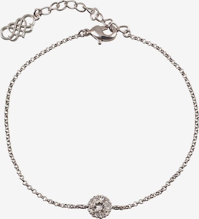 LILY AND ROSE Bracelet 'Emerald' in silber: Frontalansicht