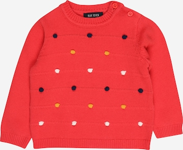 BLUE SEVEN Pullover in Rot