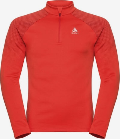 ODLO Pullover 'Midlayer 1/2 zip' in orange, Produktansicht