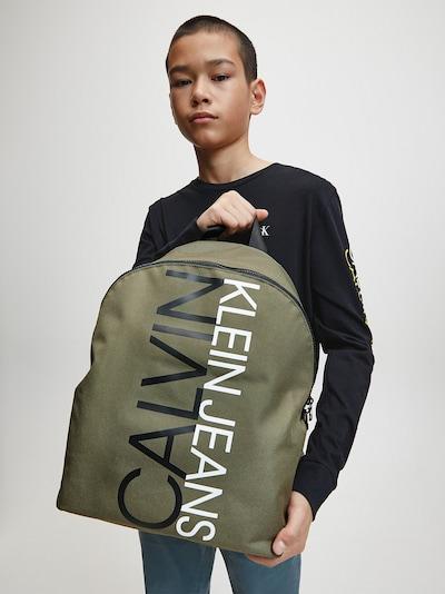 Calvin Klein Jeans Rucksack in grün: Frontalansicht