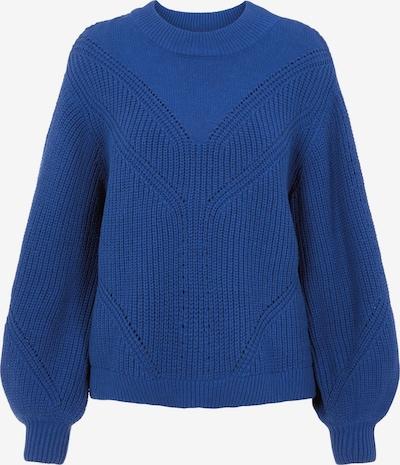 OBJECT Pullover 'Halsey' in blau, Produktansicht