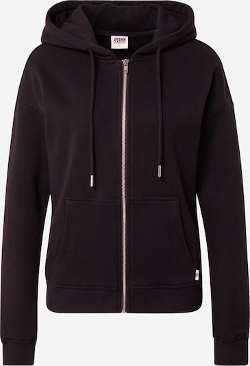 Urban Classics Sweat jacket 'Terry' in Black, Item view