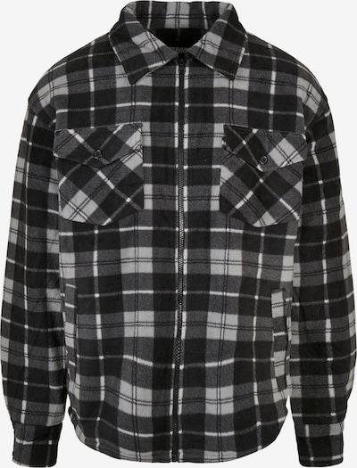 Urban Classics Jacke in hellgrau / dunkelgrau / schwarz, Produktansicht