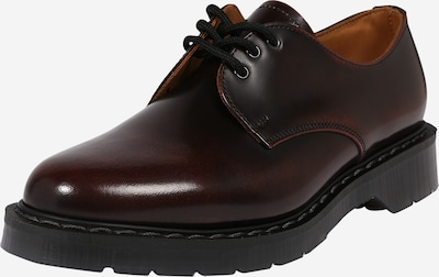 Pantofi cu șireturi 'Gibson' Solovair pe maro închis, Vizualizare produs