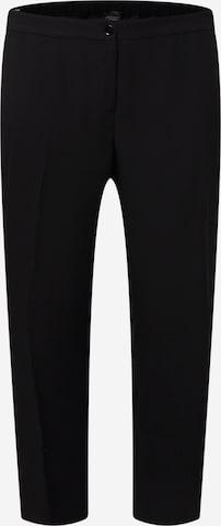 Pantalon à plis 'RARO' Persona by Marina Rinaldi en noir