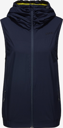 PYUA Sportbodywarmer in de kleur Donkerblauw, Productweergave
