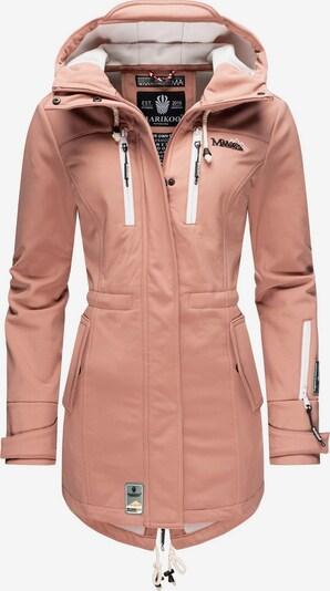 MARIKOO Funktionsmantel ' Zimtzicke ' in pink, Produktansicht