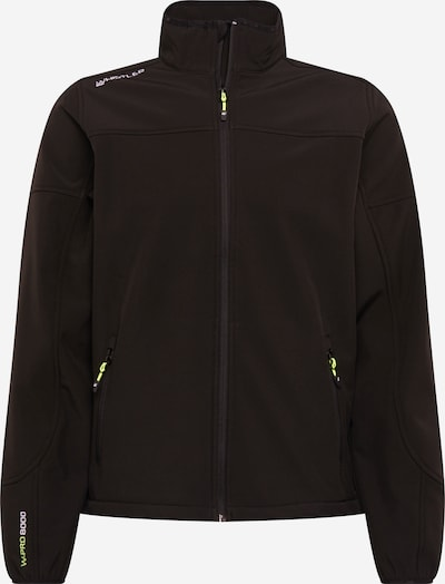 Whistler Sportjas 'Dublin' in de kleur Neongroen / Zwart, Productweergave