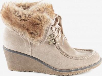 Street Super Shoes Keil-Stiefeletten in 40 in creme, Produktansicht