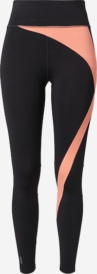 ONLY PLAY Leggings 'MALIA' in neonorange / schwarz, Produktansicht