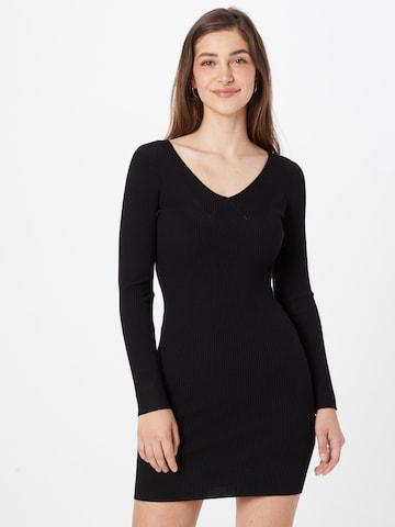 Robes en maille GUESS en noir