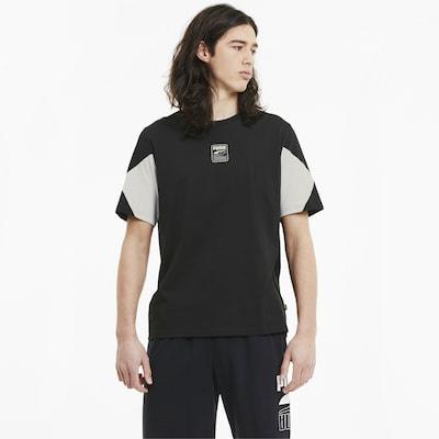 PUMA Functioneel shirt 'Rebel Advanced' in de kleur Zwart / Wit: Vooraanzicht