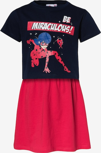 Miraculous Set 'Kleid + T-Shirt' in Navy / Mixed colors / Fire red, Item view