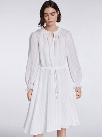 SET - Vestido camisero en blanco