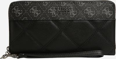 GUESS Geldbörse 'KATEY' in grau / schwarz, Produktansicht