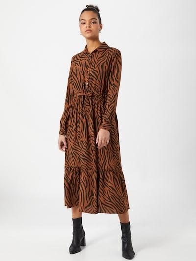 Hailys Kleid 'Lea' in hellbeige / schwarz, Modelansicht
