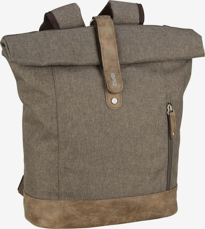 ZWEI Rucksack 'Olli' in hellbraun / braunmeliert, Produktansicht