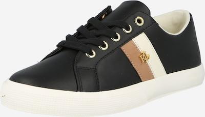 Sneaker low 'JANSON II' Lauren Ralph Lauren pe crem / bej deschis / negru, Vizualizare produs