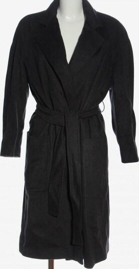 Trussardi Übergangsmantel in XL in hellgrau / schwarz, Produktansicht