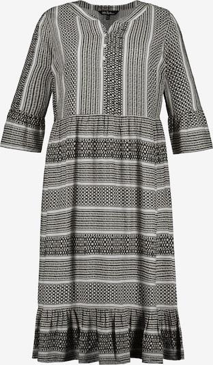 Ulla Popken Kleid in mischfarben / schwarzmeliert, Produktansicht