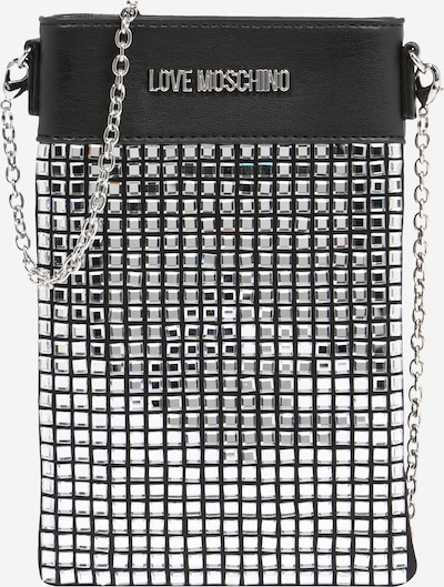 Love Moschino Smartphone case in black / silver, Item view