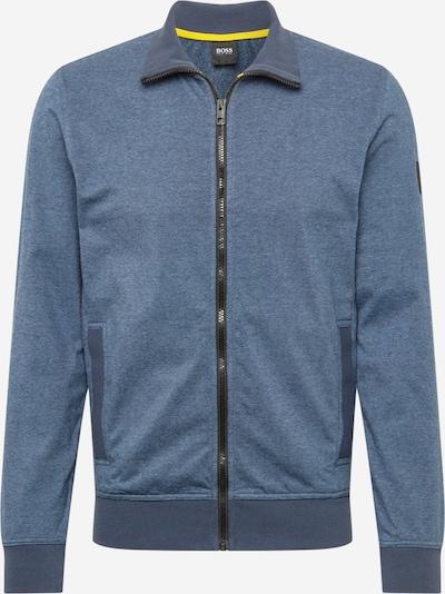 BOSS Casual Veste de survêtement en bleu-gris, Vue avec produit