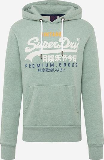 Superdry Sweatshirt in blau / gelb / mint / weiß, Produktansicht