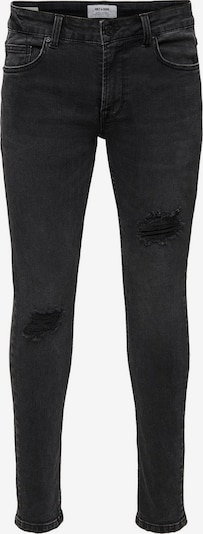 Only & Sons Jeans in black denim, Produktansicht