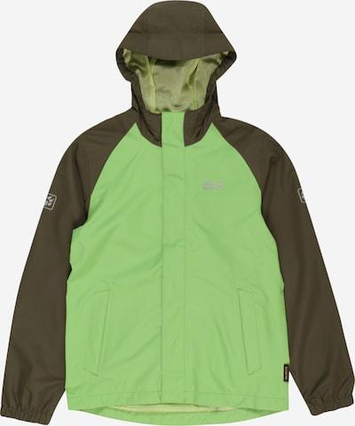 JACK WOLFSKIN Funkcionāla jaka 'TUCAN' gaiši zaļš / tumši zaļš, Preces skats