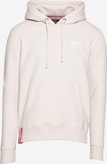 ALPHA INDUSTRIES Bluzka sportowa w kolorze kremowym, Podgląd produktu
