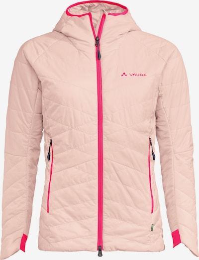 VAUDE Steppjacke 'Monviso' in rosa / neonpink, Produktansicht