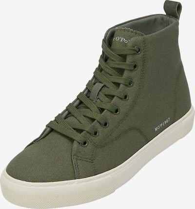 Marc O'Polo Sneakers hoog in de kleur Donkergroen, Productweergave