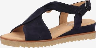 GABOR Sandalen met riem in de kleur Donkerblauw, Productweergave