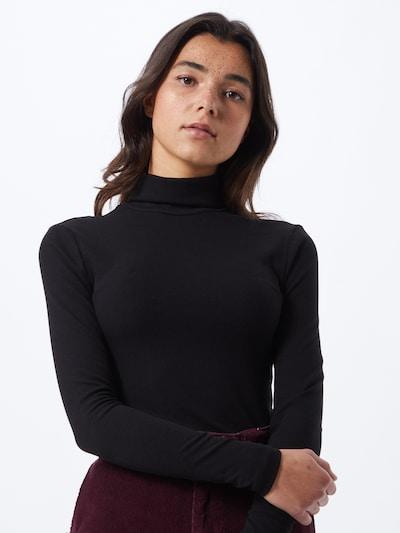 PIECES Jersey en negro, Vista del modelo