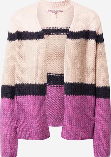 Geacă tricotată 'Katalina' LIEBLINGSSTÜCK pe nisip / albastru violet / roz, Vizualizare produs