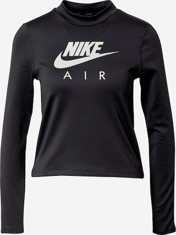NIKE Λειτουργικό μπλουζάκι σε μαύρο