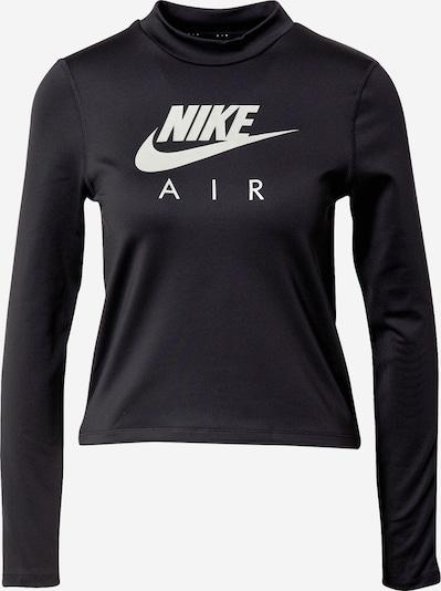 NIKE Funkční tričko - stříbrně šedá / černá / bílá, Produkt
