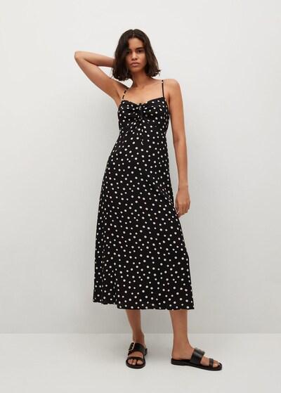 fekete MANGO Nyári ruhák 'Illeta', Modell nézet