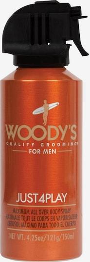 Woody's Körperspray 'Just 4 Play' in orangerot: Frontalansicht