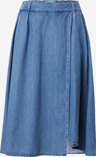 UNITED COLORS OF BENETTON Hame värissä sininen denim, Tuotenäkymä