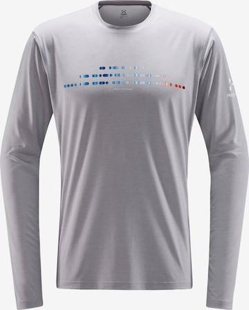 T-Shirt fonctionnel 'Ridge' Haglöfs en gris