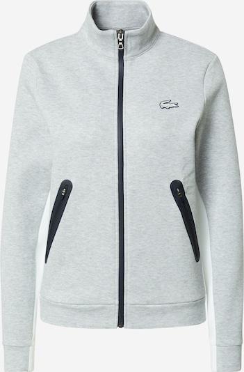 Lacoste Sport Sportovní mikina s kapucí - námořnická modř / šedý melír / bílá, Produkt