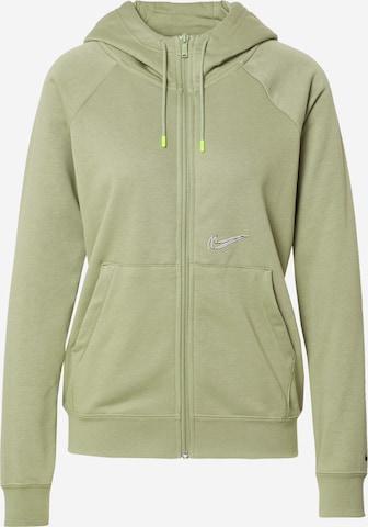 Nike Sportswear Sweat jacket in Green