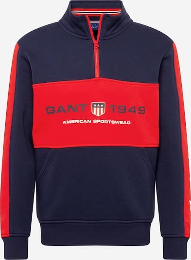 GANT Sweatshirt in navy / rot / weiß, Produktansicht