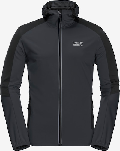JACK WOLFSKIN Sportiska tipa jaka pelēks / antracīta / melns, Preces skats