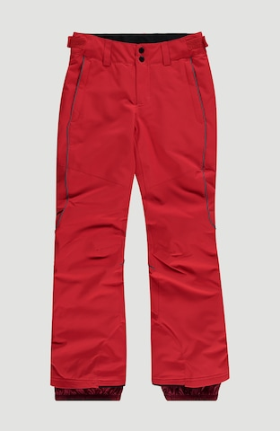 O'NEILL Outdoor trousers 'Charm' in Red